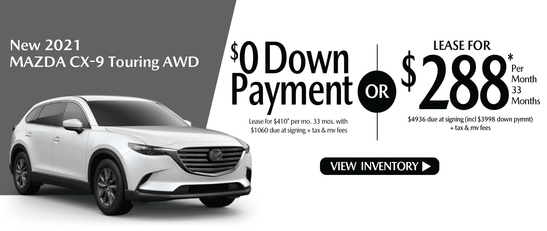 dhi CX-9 New Lease Special Offer Mazda of New Rochelle NY