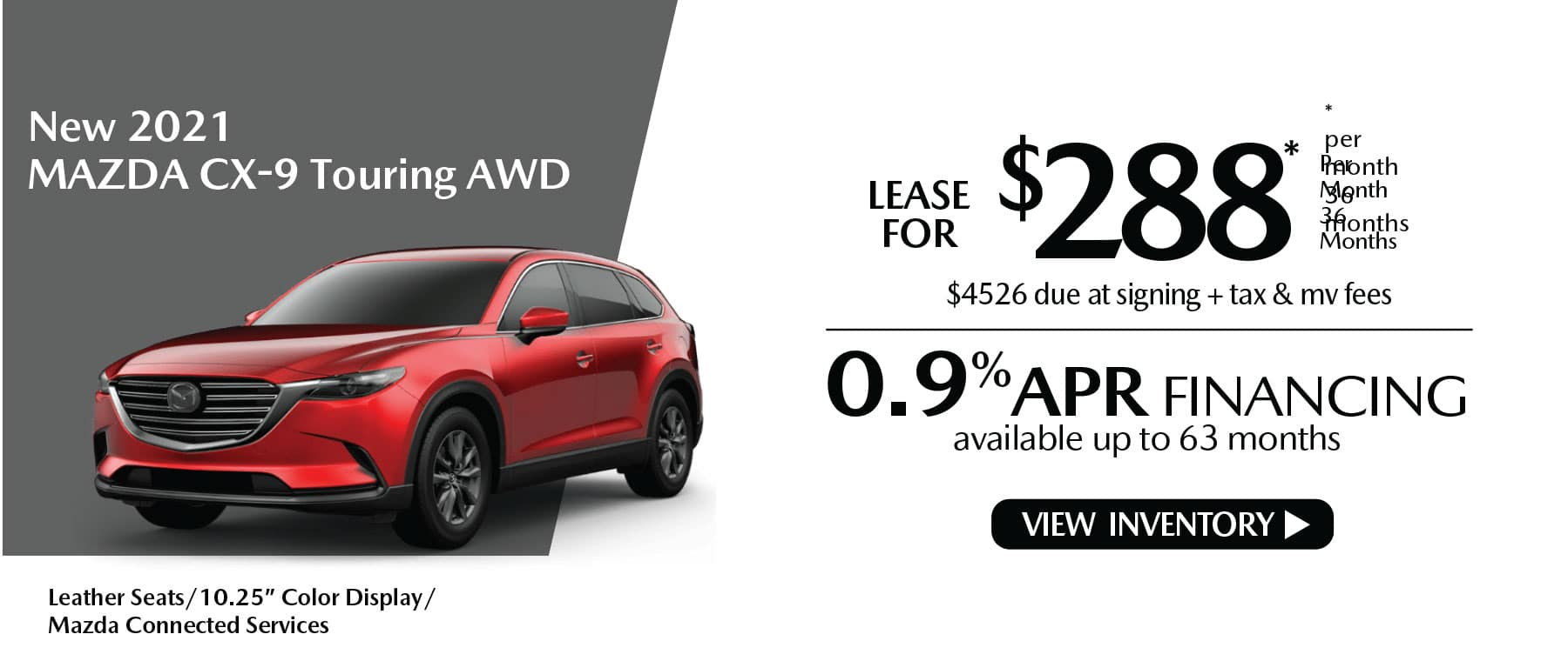 nhi CX-9 New Lease Special Offer Mazda of New Rochelle NY