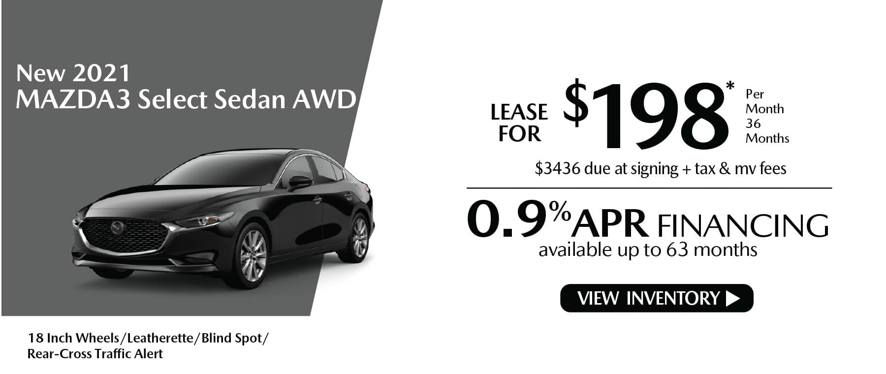 nhi MAZDA3 New Lease Special Offer Mazda of New Rochelle NY
