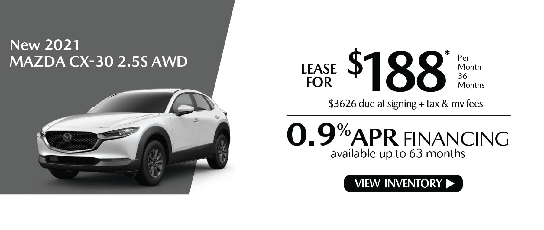 nhiu CX-30 New Lease Special Offer Mazda of New Rochelle NY