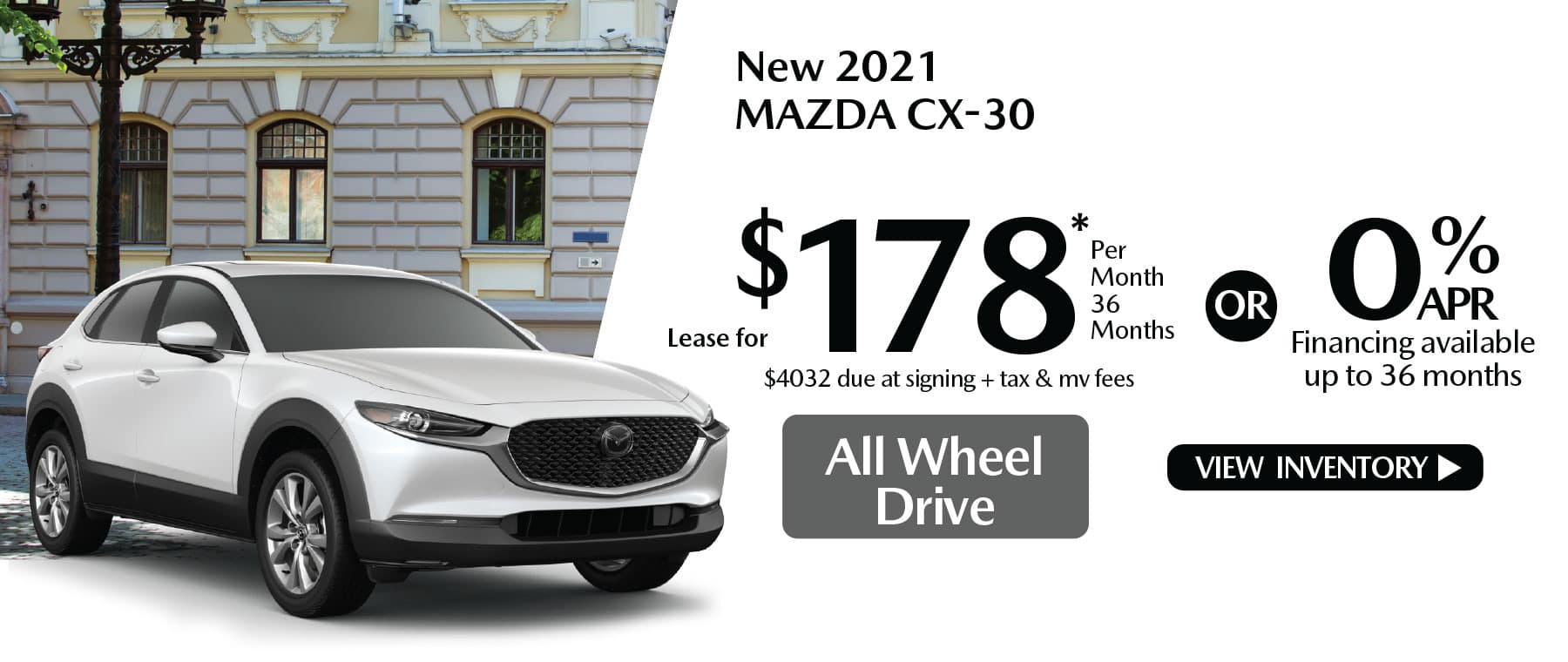 hi CX-30 New Lease Special Offer Mazda of New Rochelle NY