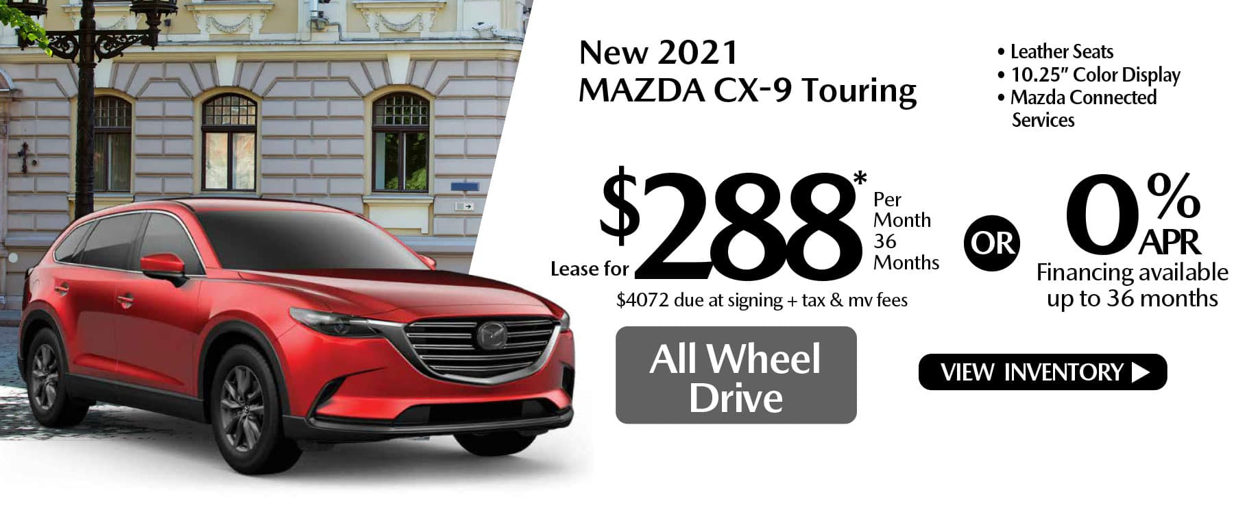 hi CX-9 New Lease Special Offer Mazda of New Rochelle NY