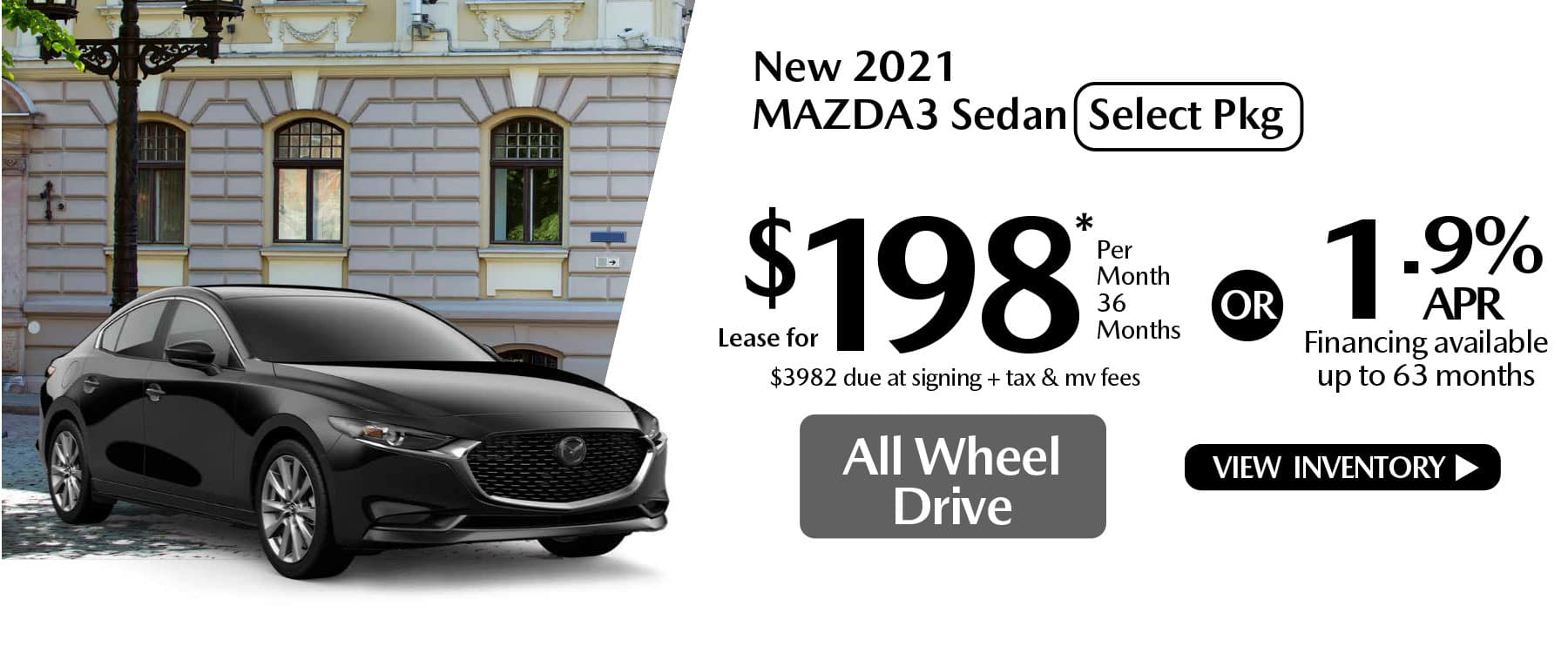 hi MAZDA3 New Lease Special Offer Mazda of New Rochelle NY