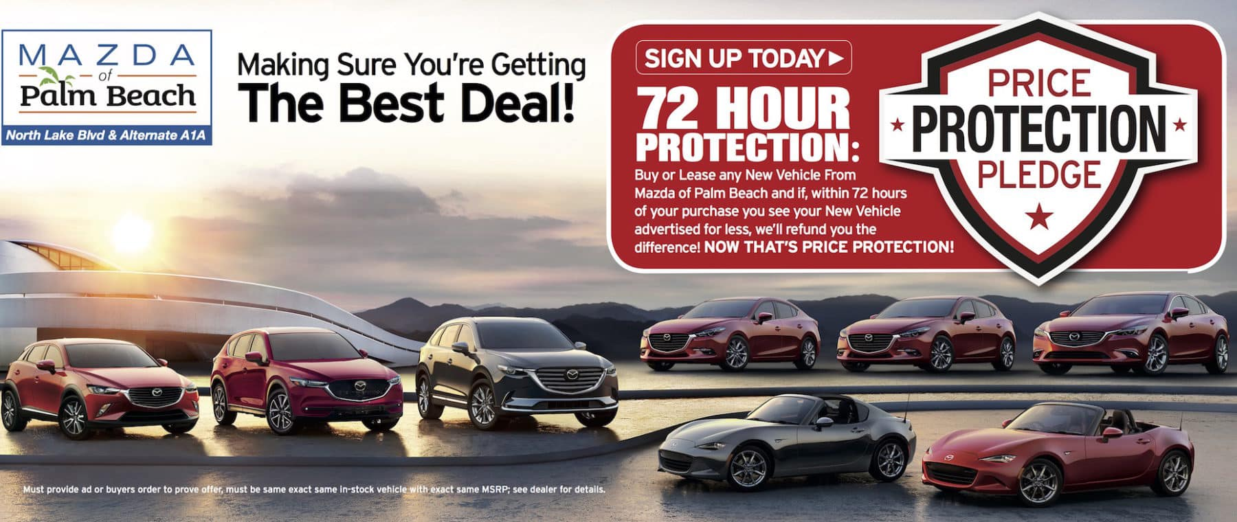 Mazda Pledge