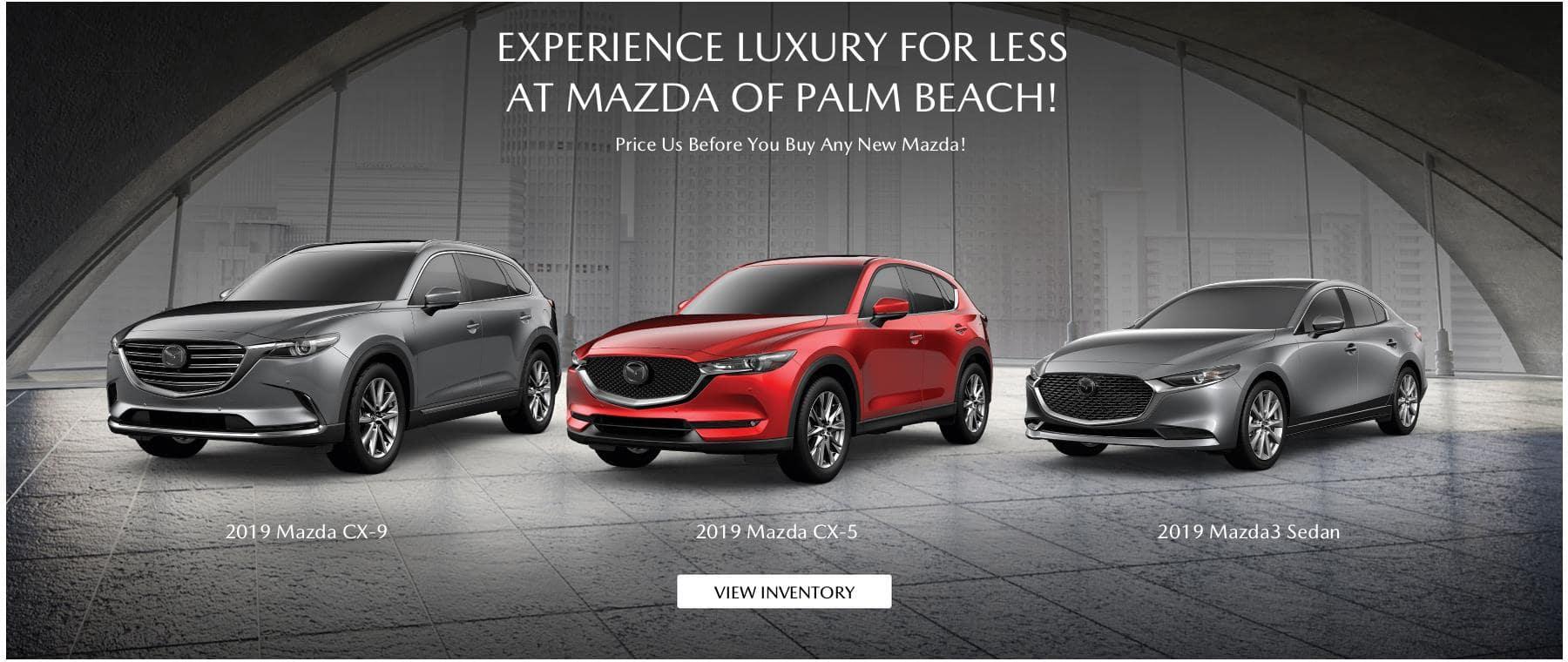 Florida Mazda Dealers >> New Mazda Used Car Dealer In Fl Mazda Of Palm Beach