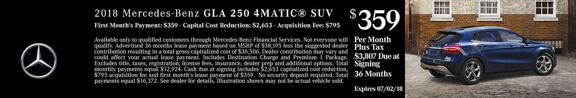 2018 Mercedes GLA 250 4MATIC SUV For Sale Boise
