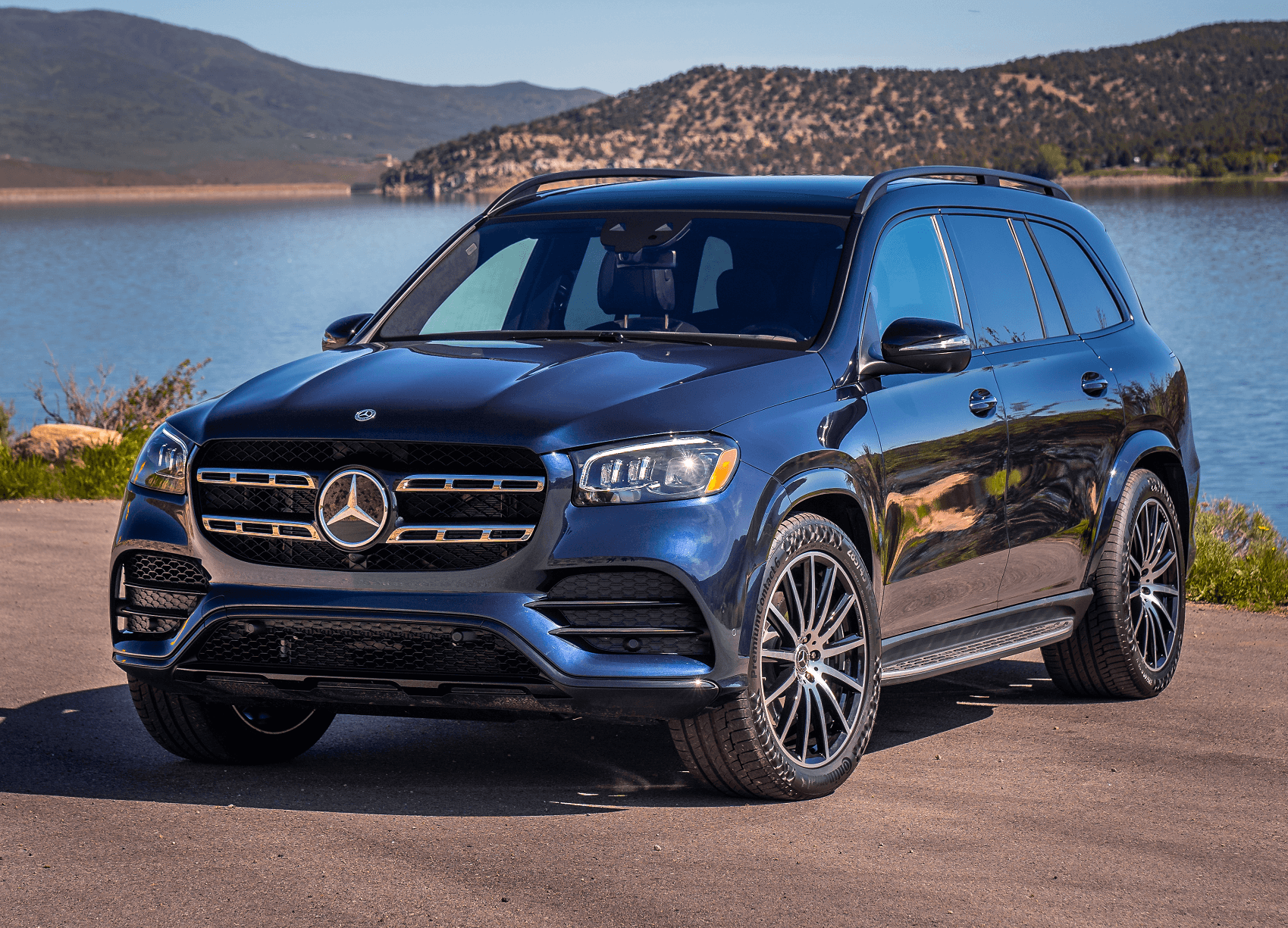 2019 Mercedes Benz GLS in Black