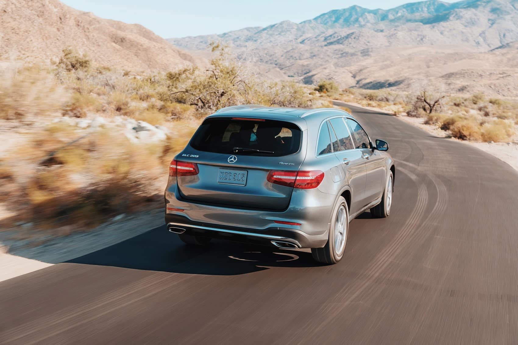 2019 Mercedes GLC Driving