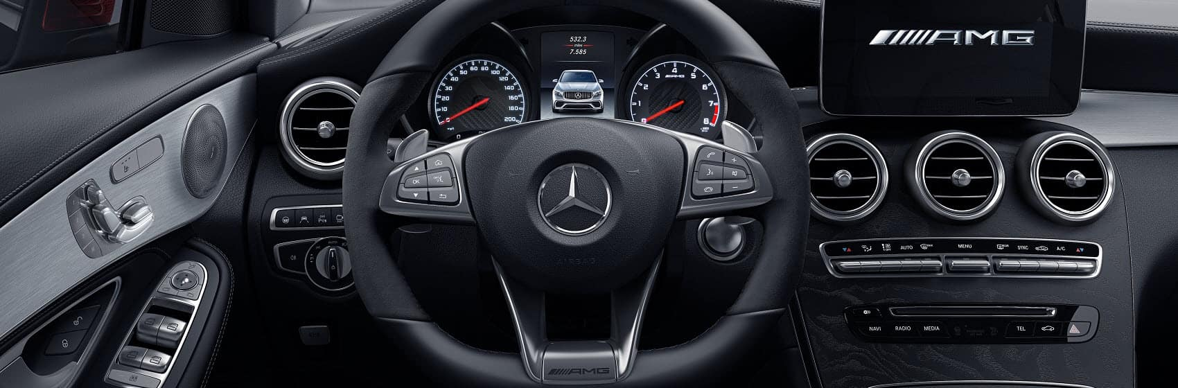 2019 Mercedes GLC Interior