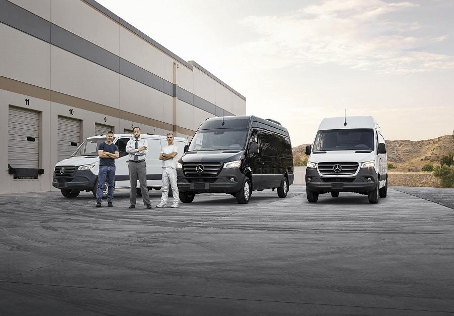 2019 Mercedes Cargo Vans