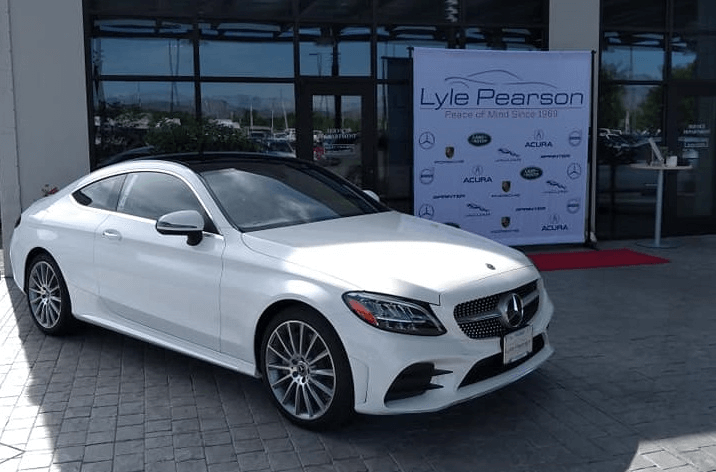 Mercedes Benz White