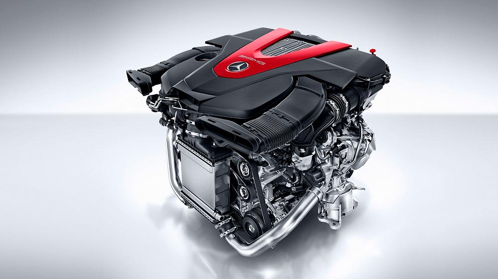 Mercedes GLC Engine