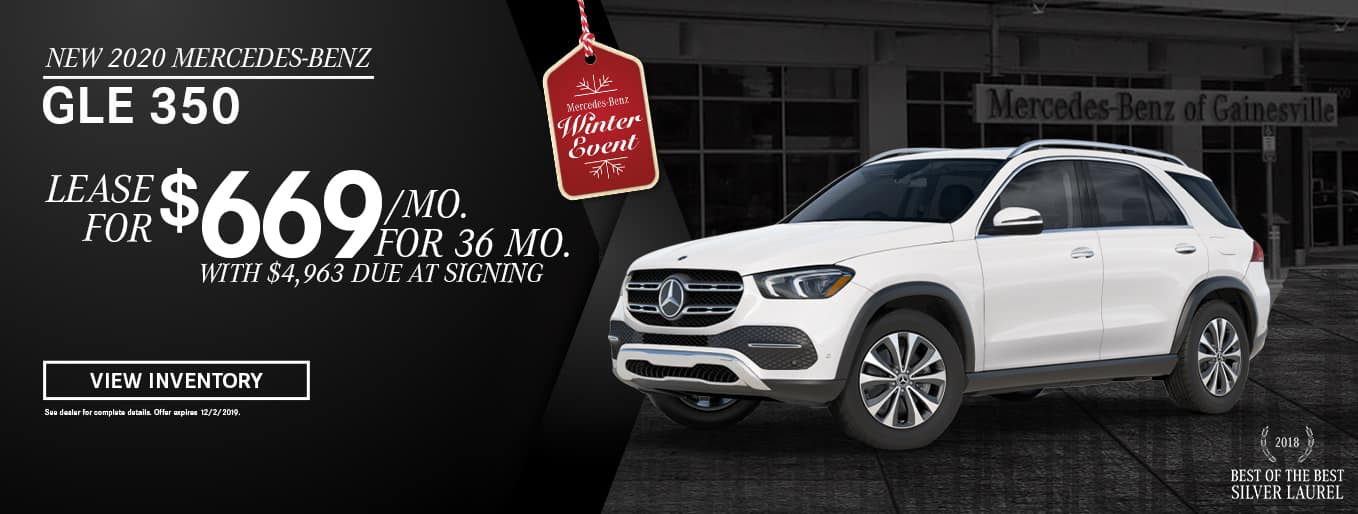 New 2020 Mercedes-Benz GLE 350 | Lease For $669 Per Month For 36 Months With $4,963 Due At SIgning