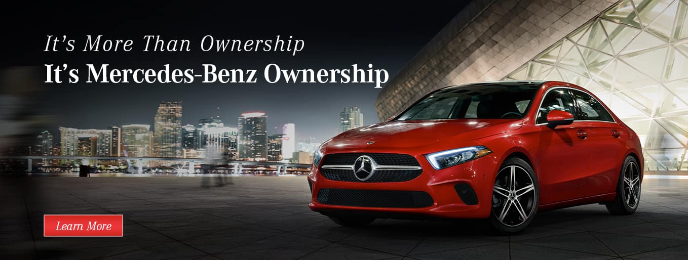 It's More Than Ownership | It's Mercedes-Benz Ownership