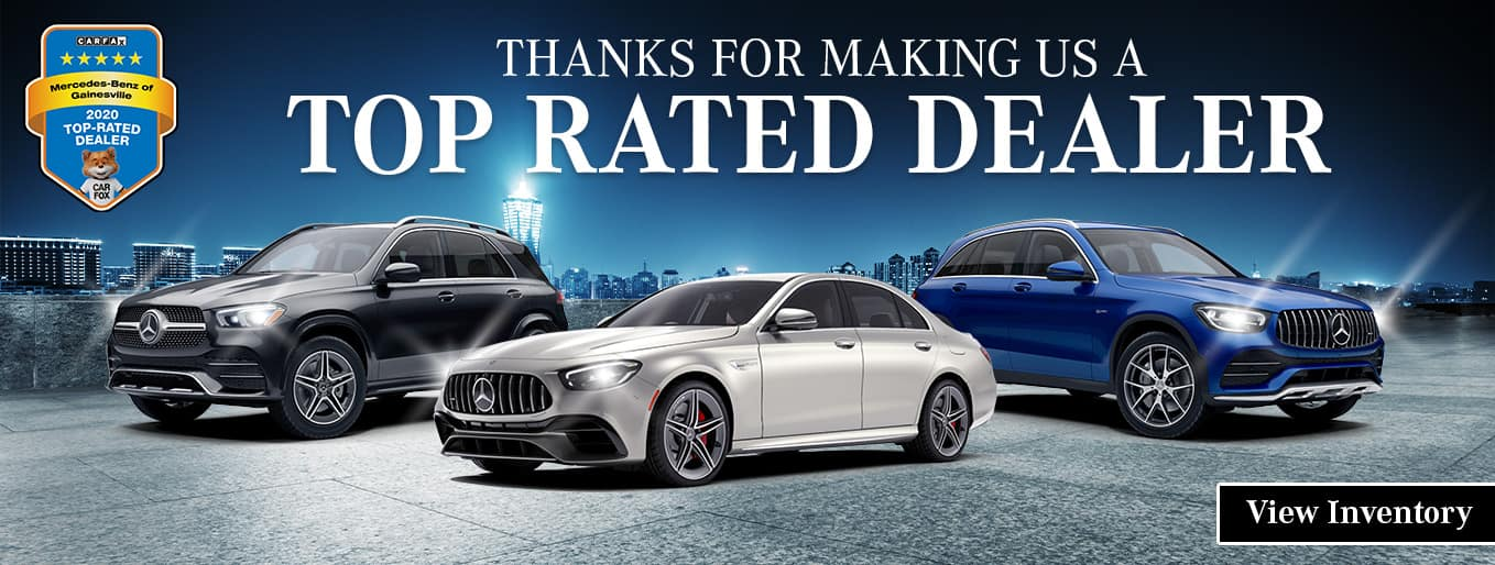 Thank You For Making Us A Top Rated Dealer