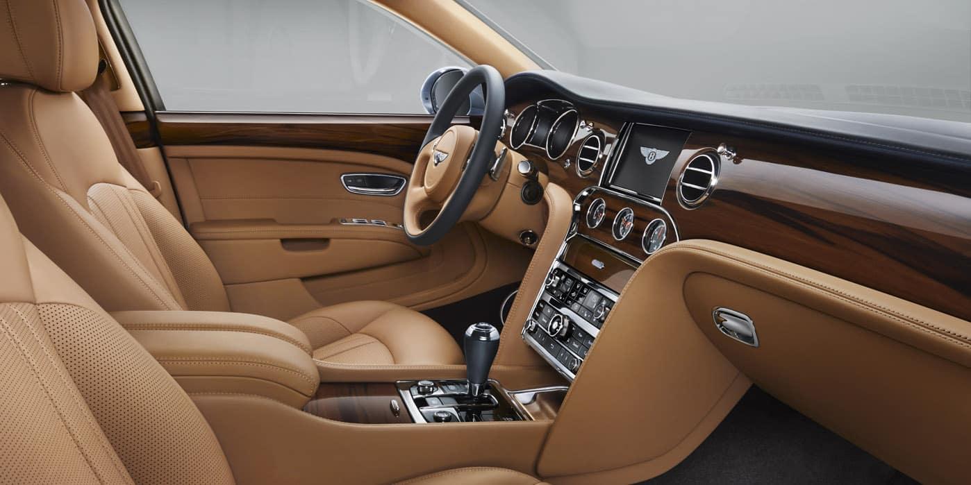 Bentley Mulsanne Cabin Interior