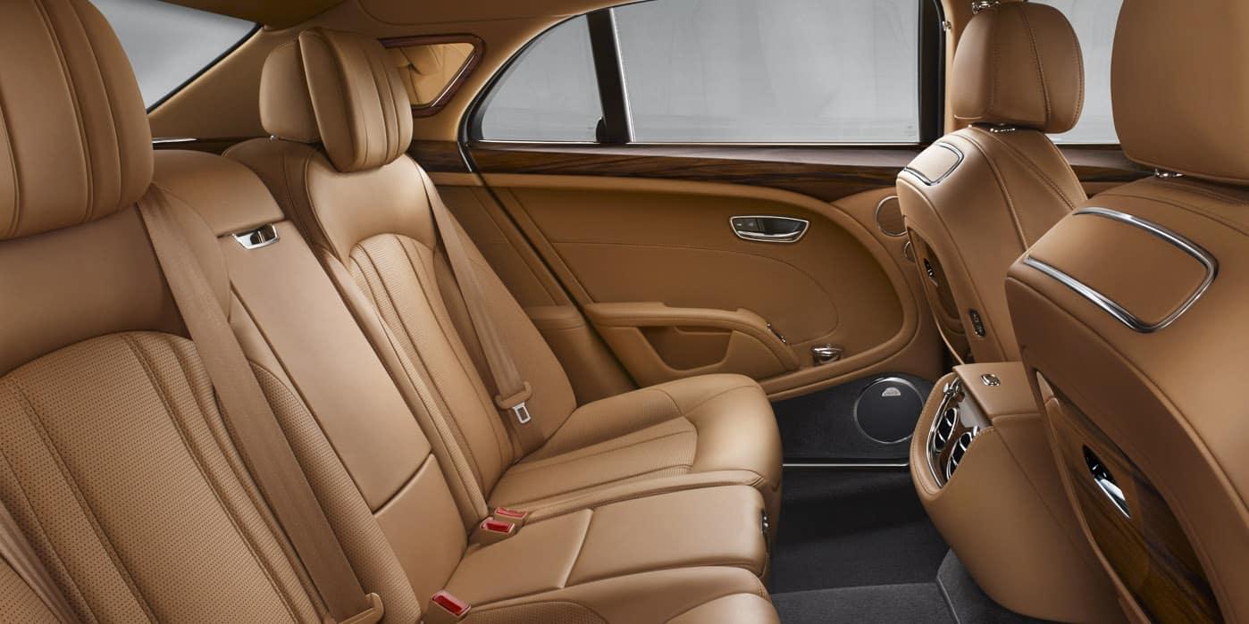 Bentley Mulsanne Rear Seats