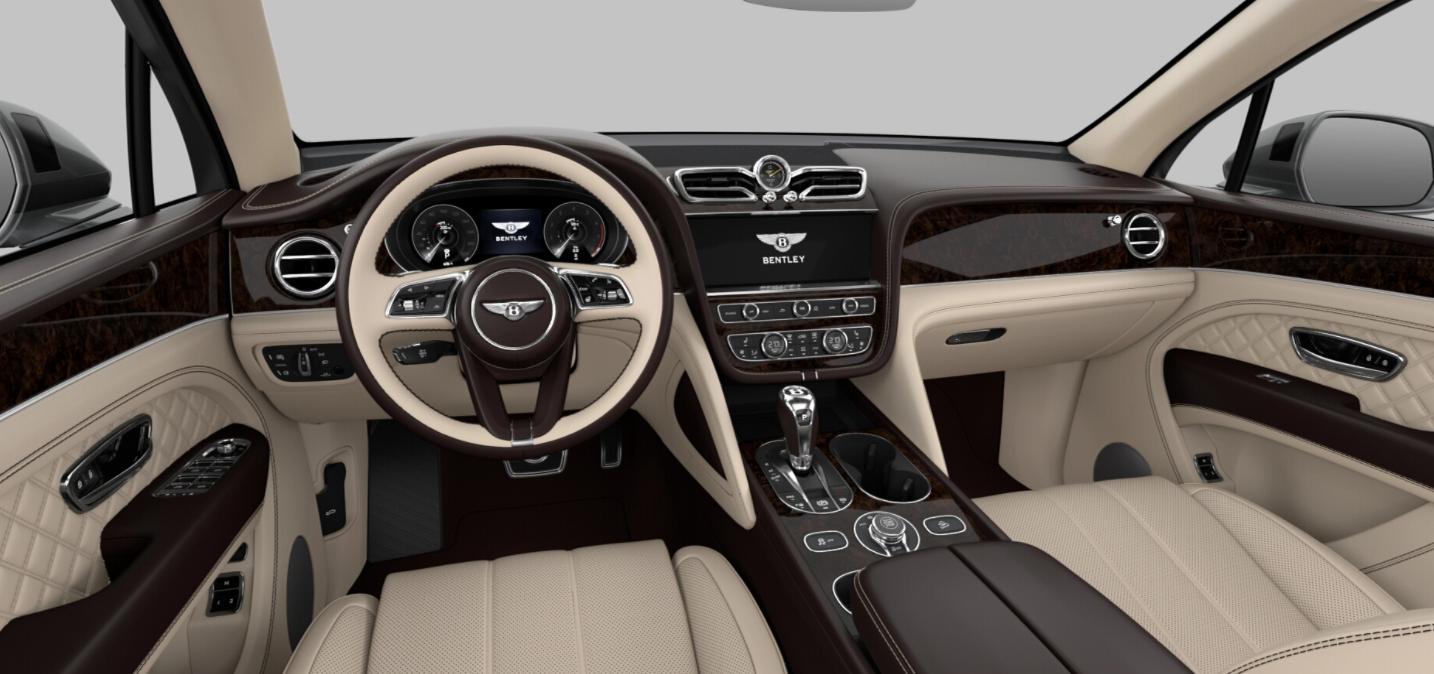 2021 Bentley Bentayga V8 Dark Stained Burr Walnut Interior