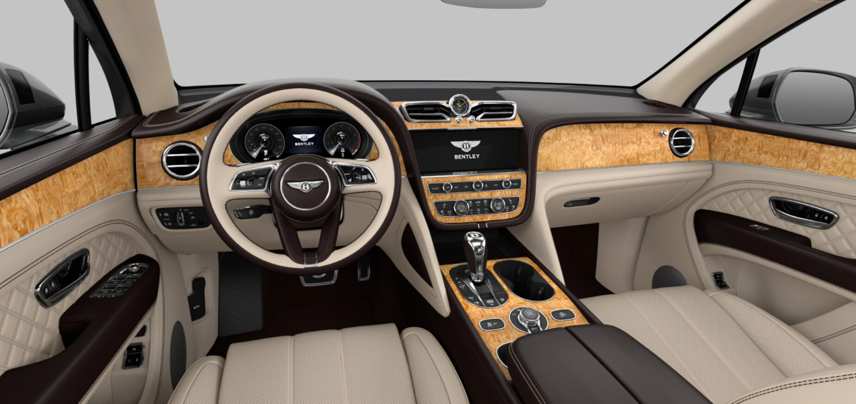 2021 Bentley Bentayga V8 Tamo Ash Interior