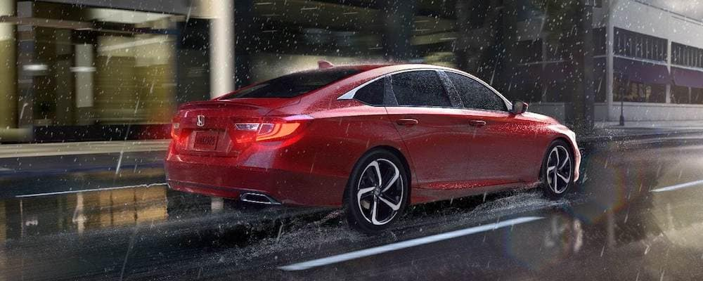 2019 accord driving in city