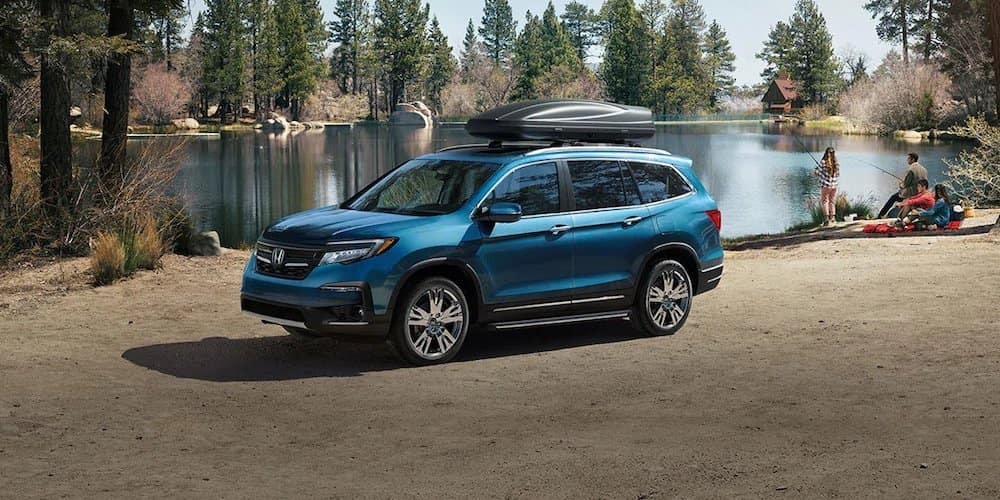 2019 Honda Pilot at Campsite
