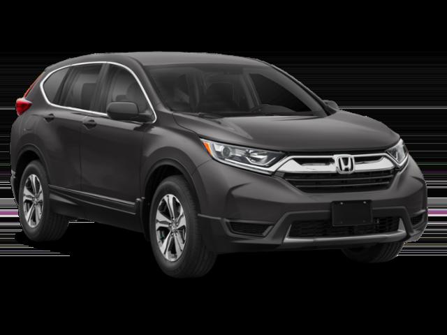Gray 2019 Honda CR-V LX