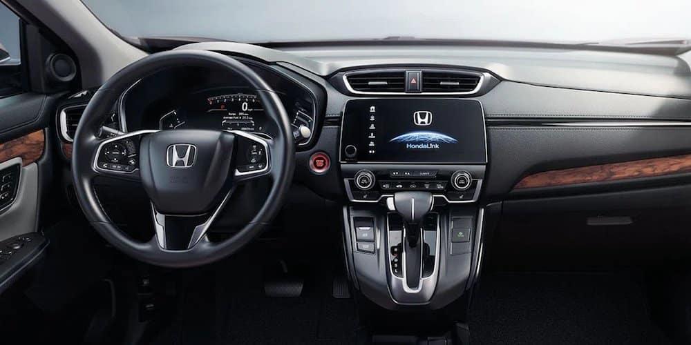 Honda CR-V Front Interior and Dashboard