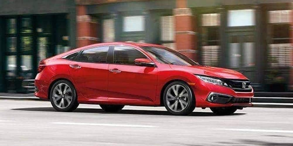 2019 Honda Civic on City Street