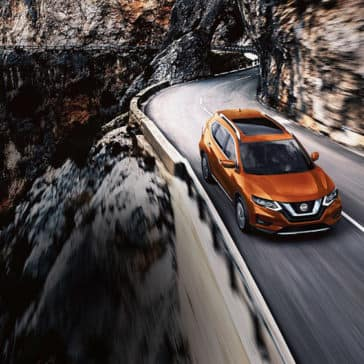 2018 Nissan Rogue SL exterior monarch orange