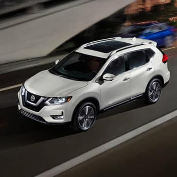 2018 Nissan Rogue SL platinum reserve pearl white