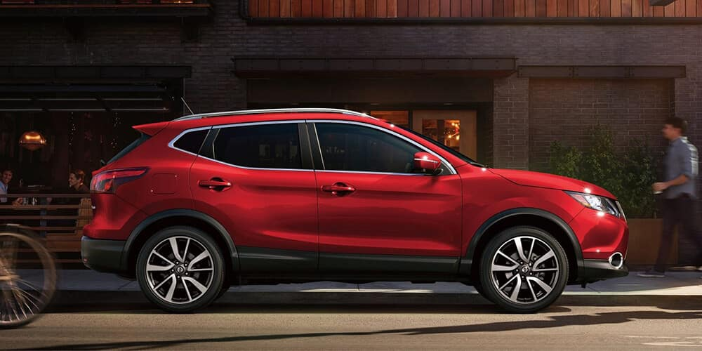 2018.5 Nissan Rogue Sport exterior design red profile