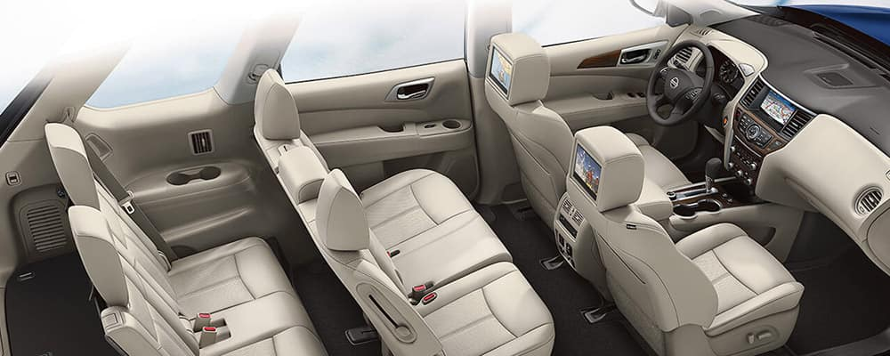 2018 Nissan Pathfinder interior seating