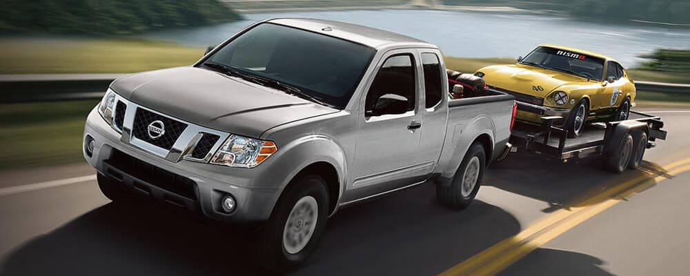 2018 nissan frontier towing
