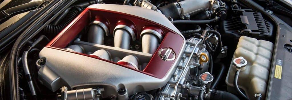 2017 Nissan GT R Engine