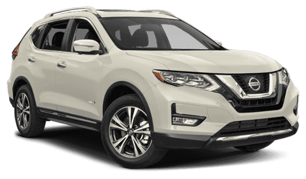 2019 Nissan Rogue facing right
