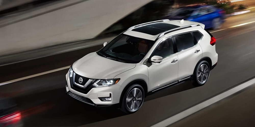 2019 Nissan Rogue top view
