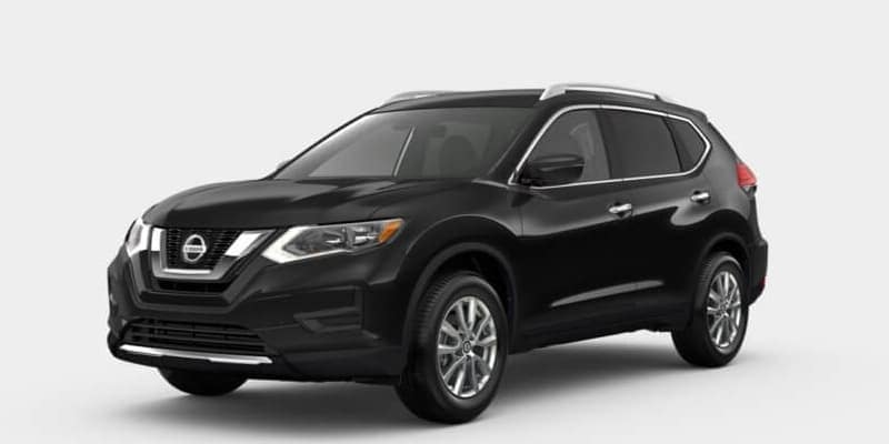 2019 Nissan Rogue Magnetic Black