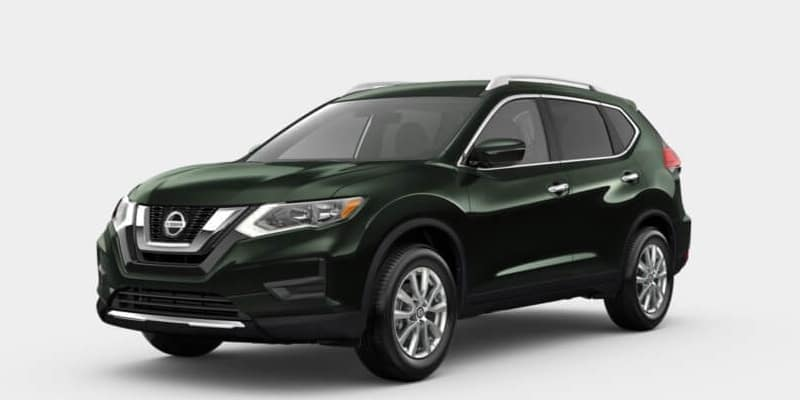 2019 Nissan Rogue Midnight Pine Metallic