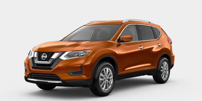 2019 Nissan Rogue Monarch Orange Metallic