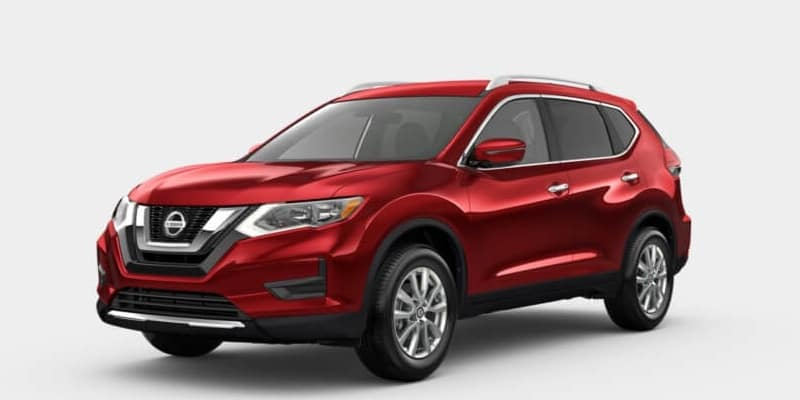 2019 Nissan Rogue Scarlet Ember Tintcoat