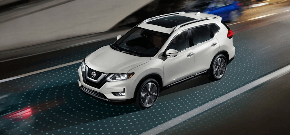 Nissan Rogue with Intelligent Mobility