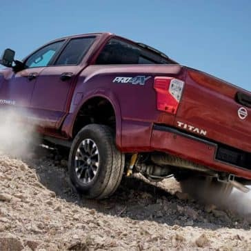 2019 Nissan Titan Rear