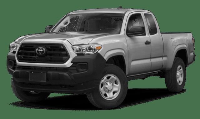 Silver 2019 Toyota Tacoma