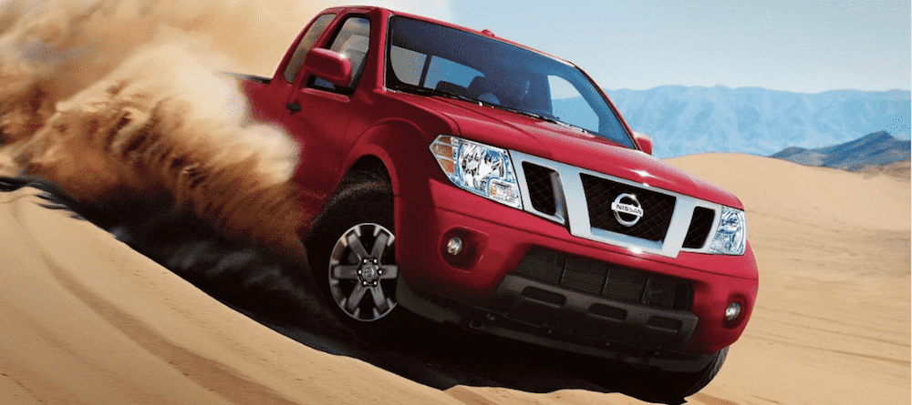 Red 2019 Nissan Frontier