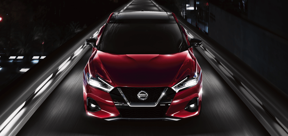 2020 Nissan Maxima on highway