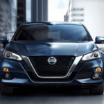 2020 Nissan Altima driving in city