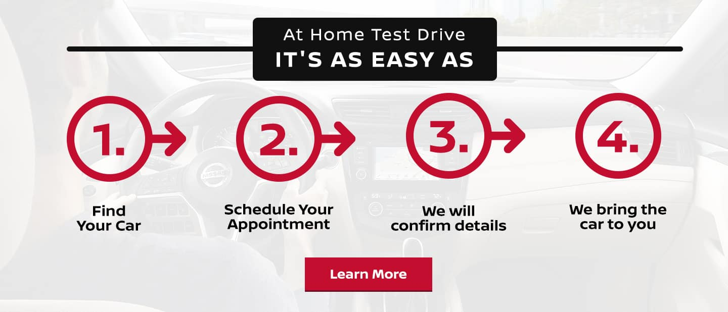 At Home Test Drive - It's Easy as 1,2,3,4