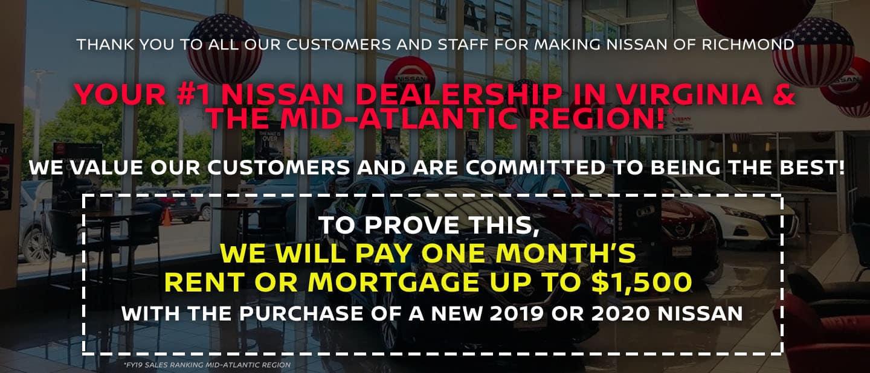 Nissan of Richmond - #1 Volume Dealership in VA & Mid-Atlantic Region