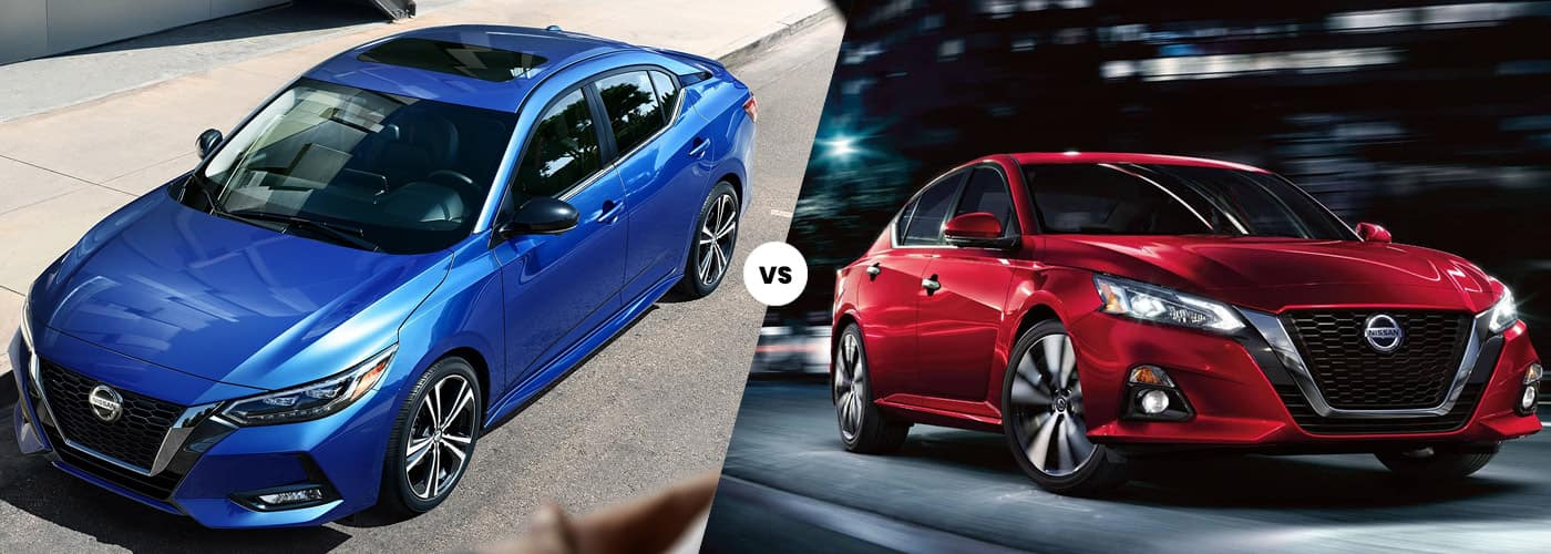 2020 Nissan Sentra vs. 2020 Nissan Altima