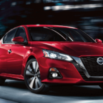 2020 Nissan Altima in red